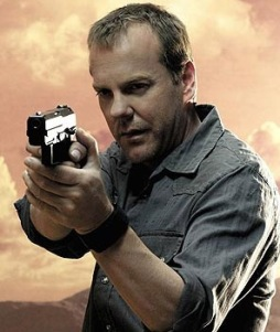 Jack Bauer once stepped into quicksand. The quicksand couldn't escape and nearly drowned.