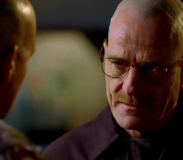 You do not mess with Walter White