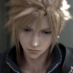 If Cloud had longer hair, she'd be hot.